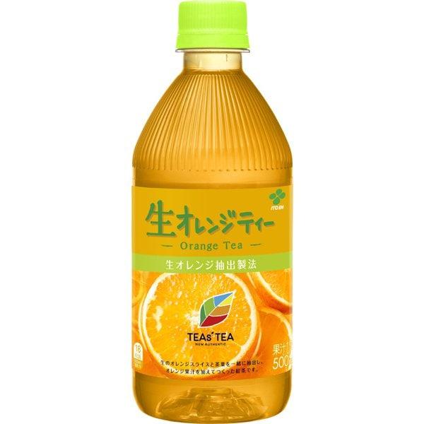 TEAs'TEA NEW AUTHENTIC 生オレンジティー 500ml×24本 [紅茶飲料]