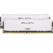 BL2K16G32C16U4W [Ballistix White 2x16GB (32GB Kit) DDR4 3200MT/s CL16 Unbuffered DIMM 288pin White]