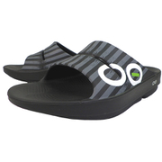 [正規輸入販売店]OOahh Sport 5020042 75 Grey Stripes White 23cm(M4/W6) [スポーツサンダル ユニセックス]