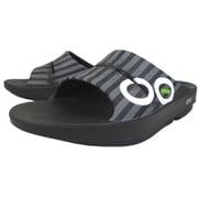 [正規輸入販売店]OOahh Sport 5020042 75 Grey Stripes White 30cm(M11/W13) [スポーツサンダル ユニセックス]