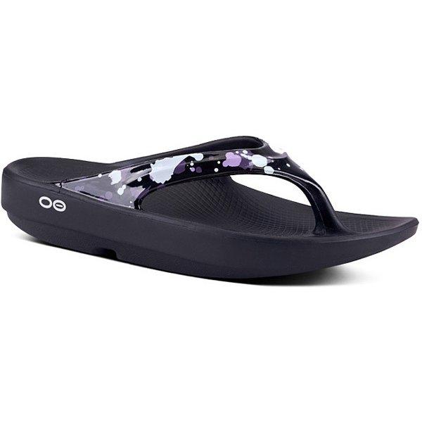 [正規輸入販売店]OOlala 5020051 73 Black Splash 23cm(M4/W6) [スポーツサンダル ユニセックス]