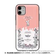 iPhone 11 / iPhone XR 用 ミラーカードケース ディズニー ピグレット