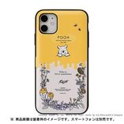 iPhone 11 / iPhone XR 用 ミラーカードケース ディズニー プーさん