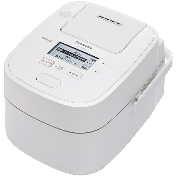 SR-CVSX100-W [スチーム&可変圧力IHジャー炊飯器 PREMIUMシリーズ 5.5合炊き Wおどり炊き エコナビ搭載 ホワイト]