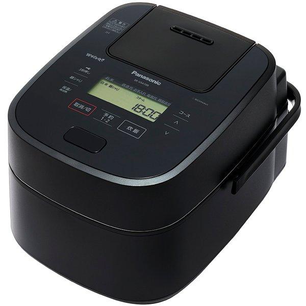 SR-VSA100-K [スチーム&可変圧力IHジャー炊飯器 PREMIUMシリーズ 5.5合炊き Wおどり炊き エコナビ搭載 ブラック]
