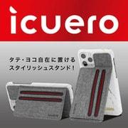 ICUERO-WS-IP11GY [iPhone 11 Pro Max/ iPhone 11 / iPhone 11 Pro 用 ICUERO ウォレットスタンド GRAY]