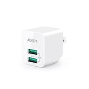 PA-U32-WT [Minima Duo AC急速充電器 USB-A 2ポート 12W ホワイト]