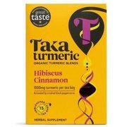 TK015HC [タカターメリック ハイビスカス&シナモン 36g (2.4g×15ティーバッグ) カフェインフリー]