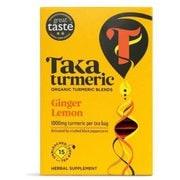 TK015GL [タカターメリック ジンジャー&レモン 36g (2.4g×15ティーバッグ) カフェインフリー]