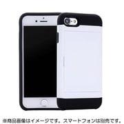 YHDSCC19D-WH [iPhone SE(第2世代) 4.7インチ用 スライドカードケース WH]