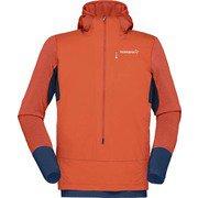 ビティホーン アルファ フーディー シャツ bitihorn Alpha Hoodie Shirt 1202608190 Pureed Pumpkin Mサイズ [アウトドア カットソー メンズ]