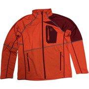 SHIOMI JACKET M AF 1643376 (2101 ORANGE RED) Lサイズ [アウトドア フリース メンズ]