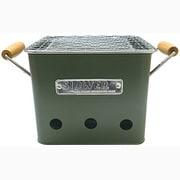 SLW196 BBQ STOVE ALTA S OLIVE [スロウワー SLOWER バーベキュー コンロ 卓上 焚き火台 コンパクト タイプ S 1人~2人用]