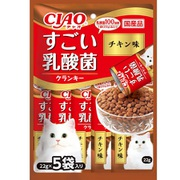 CIAO すごい乳酸菌クランキー チキン味 22g×5袋 [キャットフード]