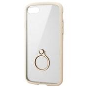 PM-A19ATSLFCRIV [iPhone SE(第2世代)/8/7 4.7インチ用 TOUGH SLIM LITE フレームカラー リング付 アイボリー]