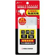 BJ-USB6NB WH [単3アルカリ6本型 乾電池充電器 電池別売タイプ micro & Type-C ホワイト]