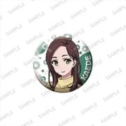 劇場版 SHIROBAKO 缶バッジ 宮井楓 [キャラクターグッズ]
