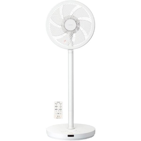 R30J-DDY-W [サーキュレーションDC扇風機 SEASONS(シーズンズ) 立体首振り リモコン付き ピュアホワイト]