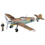 07491 メッサーシュミット Bf109F-4 Trop アフリカの星(マルセイユ) w/フィギュア [1/48スケール プラモデル]
