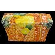 沖縄県産 パイン&シークヮーサーゼリー 2個パック (140g×2)
