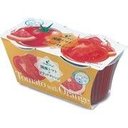 トマト&ブラッドオレンジゼリー 2個パック (140g×2)