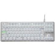 RZ03-02640800-R3J1 BlackWidow Lite JP - Mercury White [キーボード ゲーミング用]