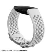 FB168SBWTS [Fitbit Charge3/4用 スポーツバンド Sサイズ White]