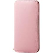 PM-A19APLFY2PN [iPhone SE(第2世代)/8/7 4.7インチ用 ソフトレザーケース NEUTZ(ニューツ) 磁石付 ピンク]