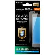 PM-A19AFLGGCBL [iPhone SE(第2世代)/8/7/6s/6 4.7インチ用 ガラスフィルム セラミックコート ブルーライトカット]