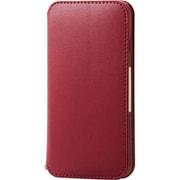 PM-A19APLFY2RD [iPhone SE(第2世代)/8/7 4.7インチ用 ソフトレザーケース NEUTZ(ニューツ) 磁石付 レッド]