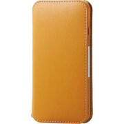 PM-A19APLFY2CL [iPhone SE(第2世代)/8/7 4.7インチ用 ソフトレザーケース NEUTZ(ニューツ) 磁石付 キャメル]