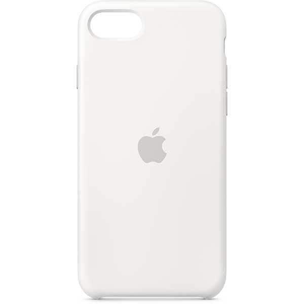 iPhone SE シリコーンケース ホワイト [MXYJ2FE/A]