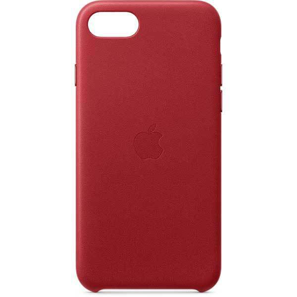 iPhone SE レザーケース (PRODUCT)RED [MXYL2FE/A]