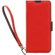 CR_A41CSPLNU_RD [Corallo NU Galaxy A41 用 手帳型ケース Red+Black]