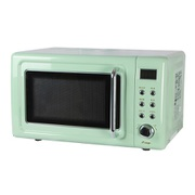 DRW-20HF-G [単機能レトロ調電子レンジ 20L ライトグリーン]
