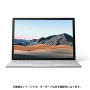 SLZ-00018 [Surface Book 3(サーフェスブック 3) 15インチ/Core i7-1065G7/メモリ 16GB/SSD 256GB/NVIDIA GeForce GTX 1660 Ti(Max-Q デザイン)/Windows 10 Home/Office Home and Business 2019/日本語配列/プラチナ]