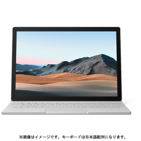 SLK-00018 [Surface Book 3(サーフェスブック 3) 13.5インチ/Core i7-1065G7/メモリ 32GB/SSD 512GB/NVIDIA GeForce GTX 1650(Max-Q デザイン)/Windows 10 Home/Office Home and Business 2019/日本語配列/プラチナ]