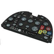 EDU644056 スピットファイア Mk.I ルックプラス 計器盤 w/パーツセット タミヤ用 [1/48スケール ディティールアップパーツ]