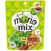 カルビー miinoMIXそら豆大豆アーモンドしお味 29g