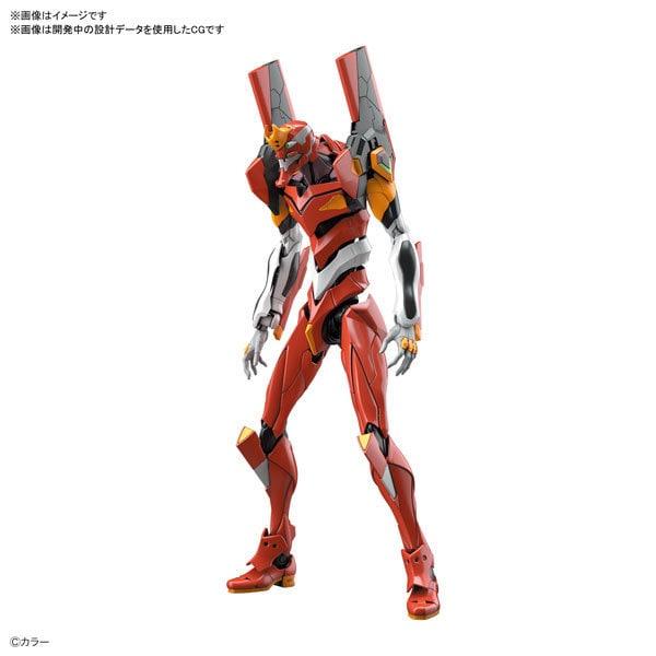 RG 汎用ヒト型決戦兵器 人造人間エヴァンゲリオン 正規実用型 2号機(先行量産機) [キャラクタープラモデル]