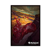 マジック:ザ・ギャザリング プレイヤーズカードスリーブ イコリア:巨獣の棲処 トライオーム サヴァイ MTGS-136 [トレーディングカード用品]