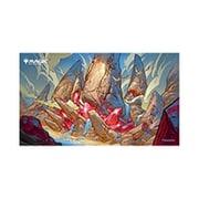 マジック:ザ・ギャザリング プレイヤーズラバーマット イコリア:巨獣の棲処 トライオーム ラウグリン MTGM-012 [トレーディングカード用品]