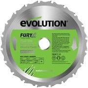 evolution 万能切断チップソー 210mm FURY210TCT