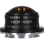 LAO0057 [LAOWA 4mm F/2.8 Circular Fisheye APS-C Fuji X 富士フイルムXマウント]