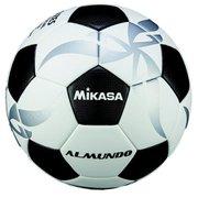 F500KB-WBK [サッカーボール 5号 ALMUNDO 貼り 検定球 ホワイト×ブラック]