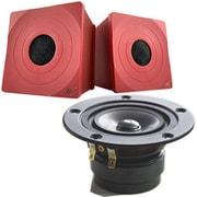 CHN519+Tozzi one Kit Red [MarkAudio スピーカーセット 赤]