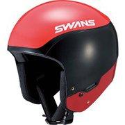 HSR-90FIS-RS ヘルメット R/BK SMサイズ [スキー ヘルメット レーシング]