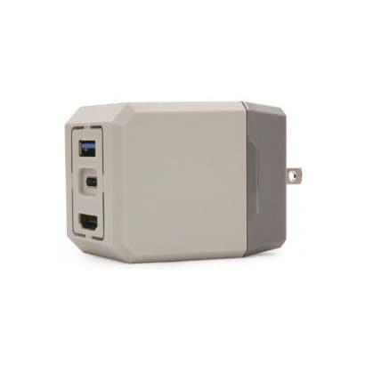 CC-NSCDA-GR [Switch用 コンパクトドックアダプタ]