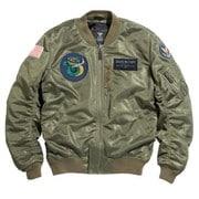 HOUSTON HTVA-2031S MA-1 CUSTOM MESH M/C JAC KHAKI XL [レーシングジャケット カーキ XL]