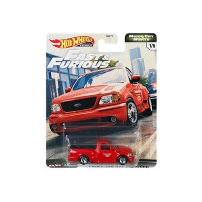 ホットウィール ワイルド・スピード プレミアムシリーズ GJR68 Ford F-150 SVT Lightning [ミニカー]
